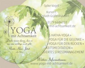 YOGA mit Achtsamkeit | Weiterstadt
